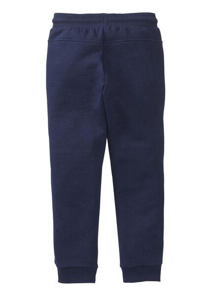 kinder sweatbroek donkerblauw donkerblauw - 1000005501 - HEMA