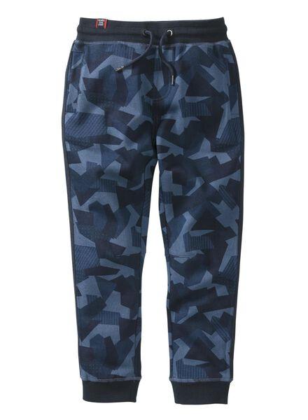kinder sweatbroek blauw - 1000008390 - HEMA