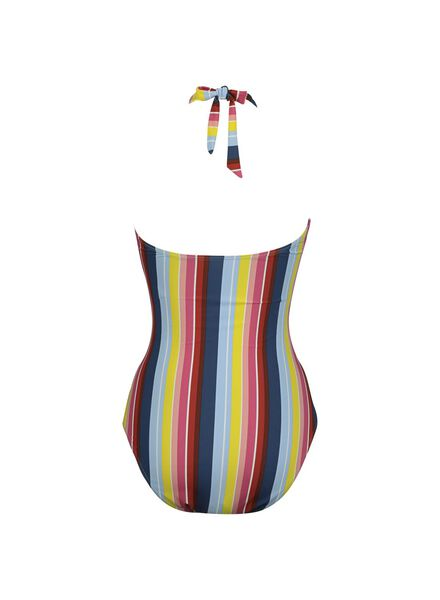 damesbadpak padded gerecycled multicolor multicolor - 1000013920 - HEMA