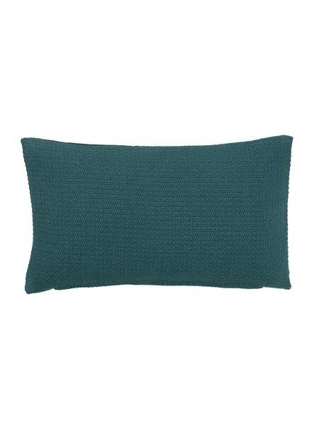 kussenhoes - 30 x 50 - groen - 7380004 - HEMA