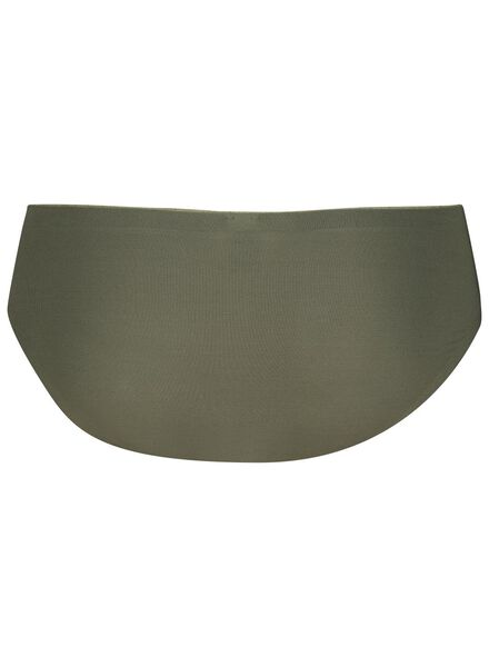 dameshipster micro second skin groen groen - 1000014662 - HEMA