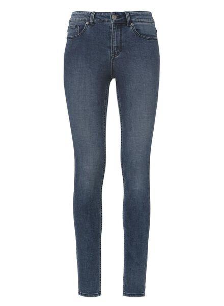 dames skinny jeans middenblauw middenblauw - 1000012007 - HEMA