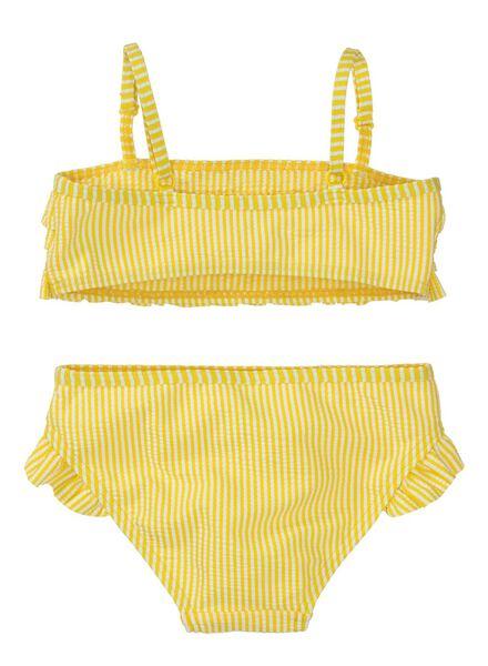 kinderbikini geel geel - 1000012968 - HEMA