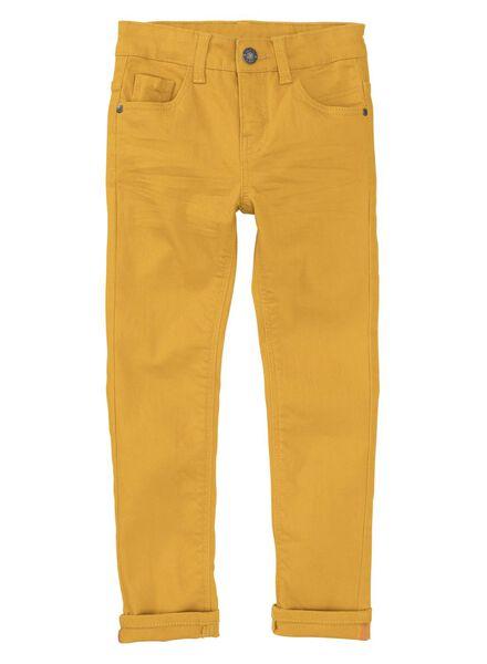 kinderbroek skinny geel geel - 1000008334 - HEMA