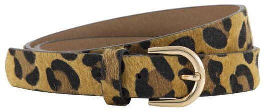 damesriem luipaard bruin bruin - 1000021082 - HEMA