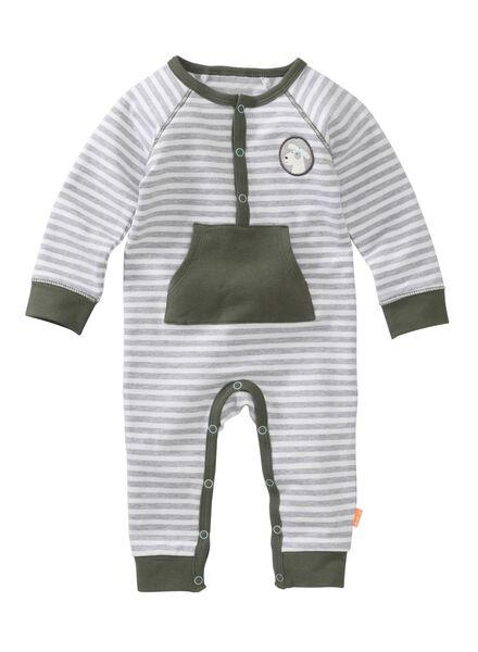 newborn jumpsuit grijs grijs - 1000005619 - HEMA