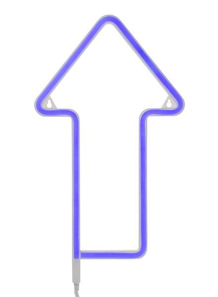 neon wandlamp pijl - 60150041 - HEMA