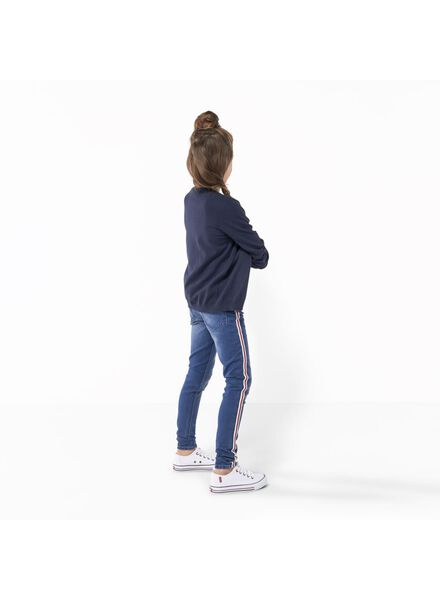 kindervest donkerblauw donkerblauw - 1000003115 - HEMA