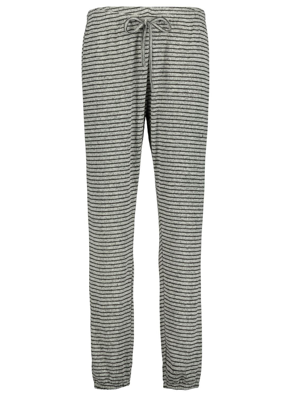 HEMA Dames Pyjamabroek Grijsmelange (grijsmelange)