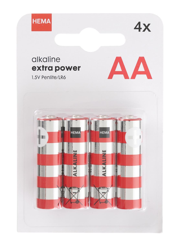 4 pak AA batterijen