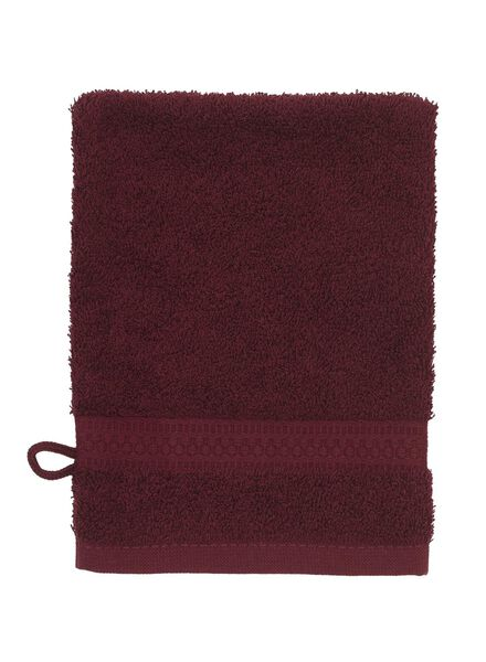 washand - zware kwaliteit - bordeaux - 5220007 - HEMA