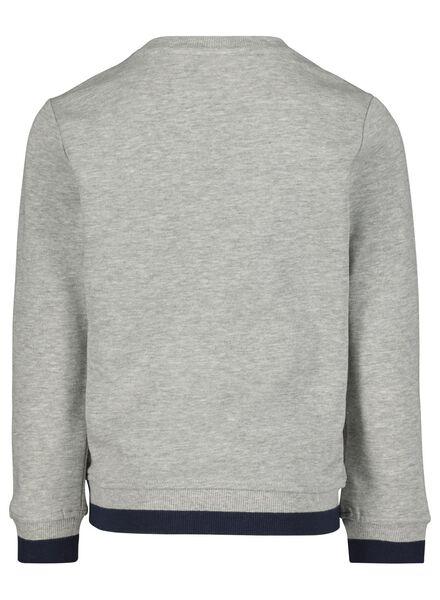 kindersweater grijsmelange grijsmelange - 1000014900 - HEMA