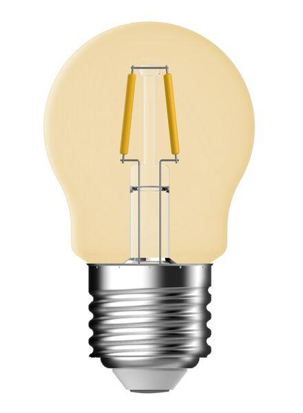 LED kogellamp goud helder 1,2 watt - grote fitting - 100 lumen - 20090057 - HEMA