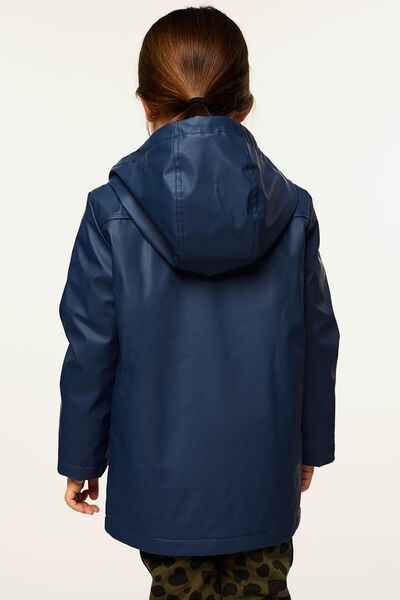 kinderjas donkerblauw 122/128 - 30844160 - HEMA