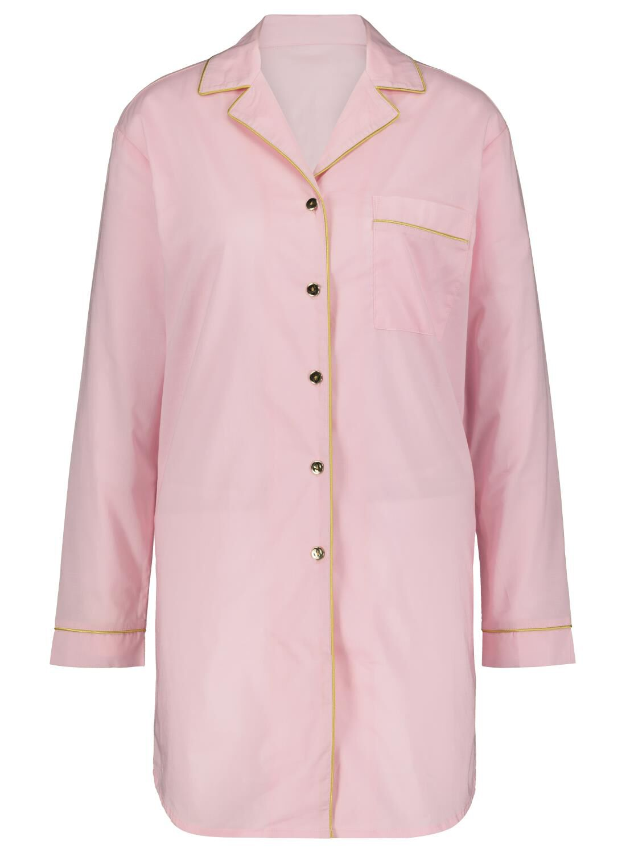 HEMA &C Pyjama Blouse Lichtroze (lichtroze)