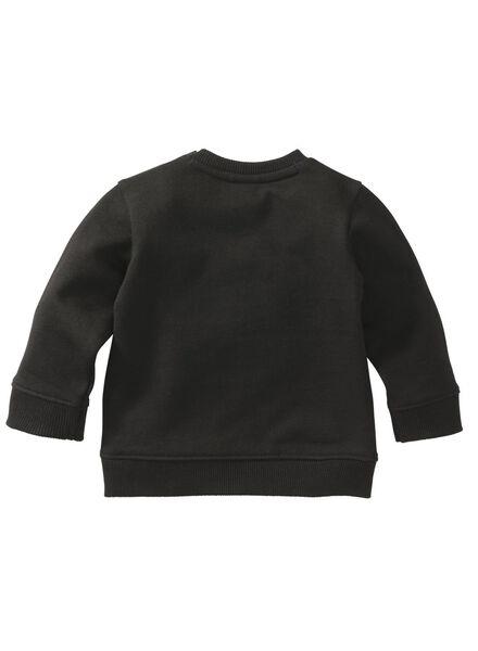 baby sweater zwart zwart - 1000008303 - HEMA