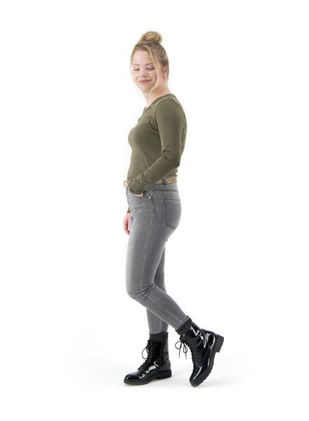 dames top legergroen - 1000017085 - HEMA