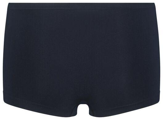 damesboxer naadloos micro donkerblauw donkerblauw - 1000018644 - HEMA