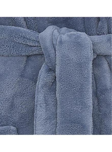 dames badjas lichtblauw lichtblauw - 1000010361 - HEMA