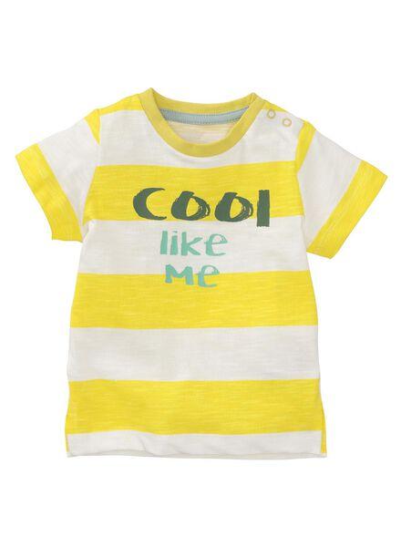 baby t-shirt gebroken wit gebroken wit - 1000008113 - HEMA