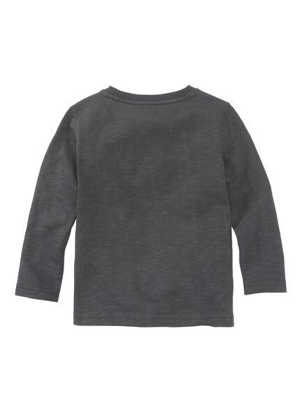 kinder t-shirt antraciet antraciet - 1000009727 - HEMA