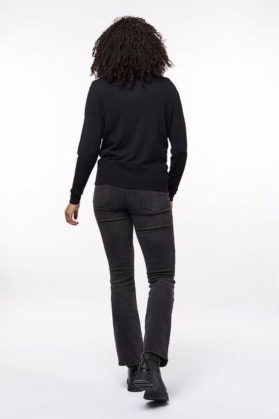 damesvest zwart zwart - 1000023477 - HEMA
