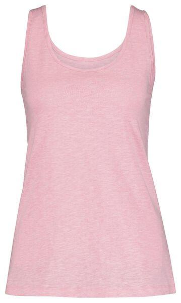 dames pyjama lichtroze lichtroze - 1000019771 - HEMA