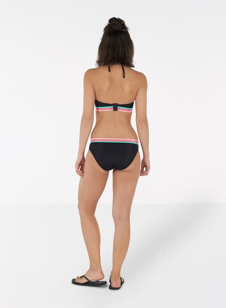 dames bandeau bikinitop zwart zwart - 1000011798 - HEMA