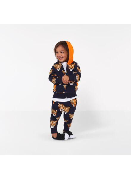 kinder sweatbroek - Bananas&Bananas zwart zwart - 1000016531 - HEMA