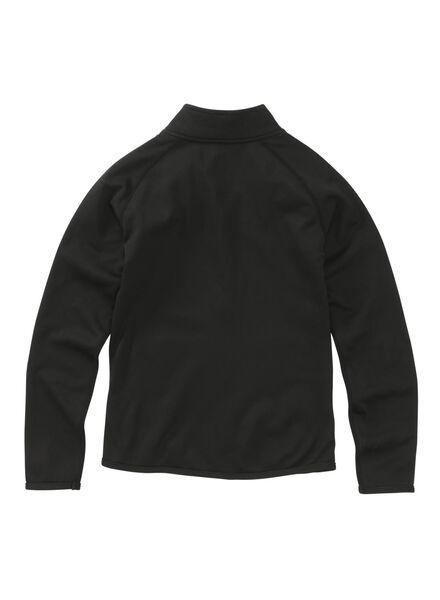 kinder sportvest zwart zwart - 1000008407 - HEMA