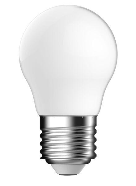 LED matte kogellamp 2,1 watt - grote fitting - 250 lumen - 20090058 - HEMA