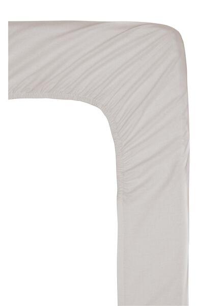 hoeslaken - hotel katoen satijn - 180 x 220 cm - zand - 5100173 - HEMA