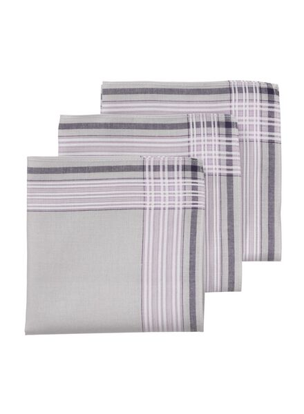 3-pak zakdoeken 30 x 30 cm - 1400015 - HEMA