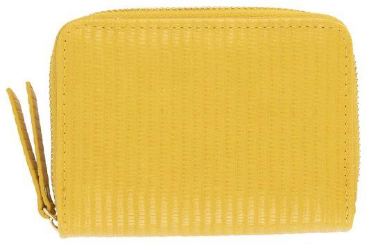 portemonnee 9x12 geel - 18120095 - HEMA