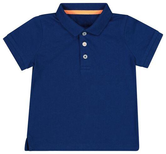 babypolo donkerblauw 62 - 33134451 - HEMA