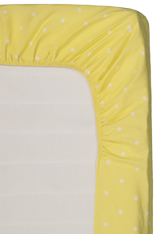 HEMA Hoeslaken - Zacht Katoen Geel (geel)