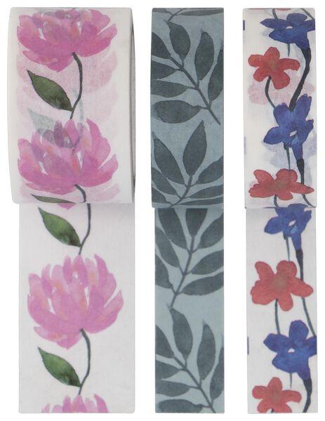 washi tapes 3x5m - 14700462 - HEMA