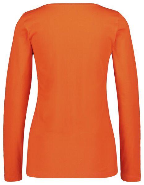 dames t-shirt rood rood - 1000018256 - HEMA