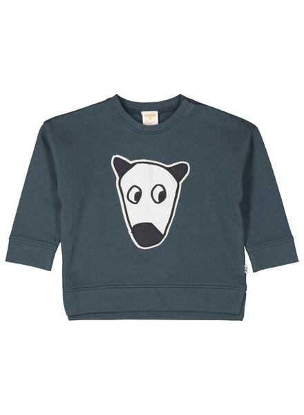 babysweater blauw blauw - 1000014256 - HEMA