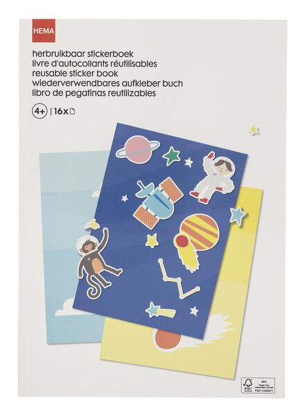 herbruikbaar stickerboek - 15122263 - HEMA