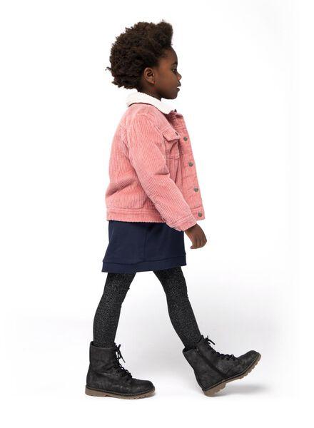 kinder corduroy jas roze roze - 1000015516 - HEMA