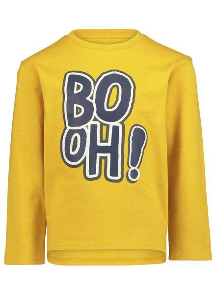 kinder t-shirt geel geel - 1000017036 - HEMA
