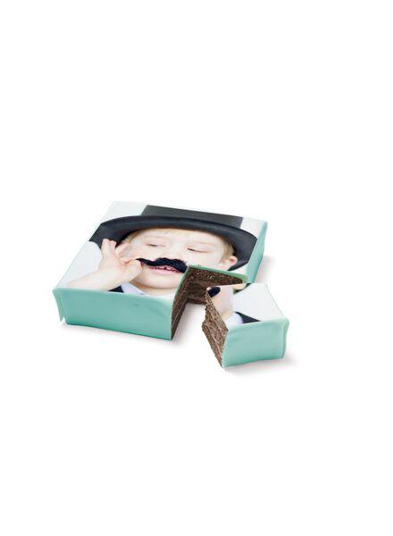 3D fototaart chocolade 9 p. - 6333625 - HEMA