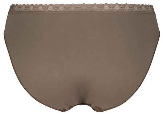 damesslip naadloos middenbruin XL - 19658764 - HEMA