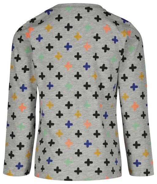kinder pyjama plusjes blauw blauw - 1000020653 - HEMA
