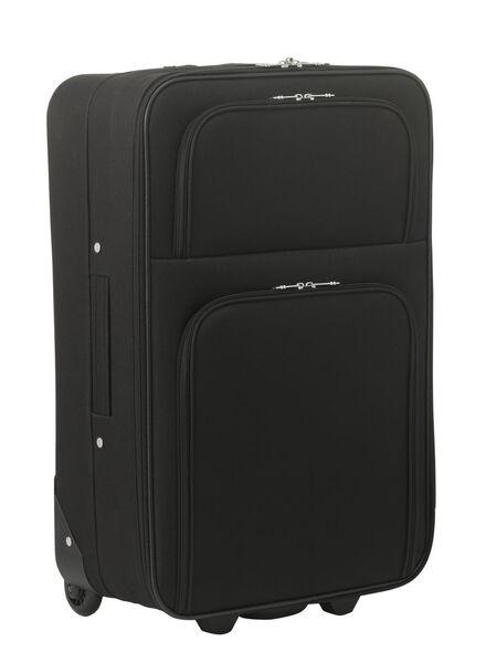 Koffer - 62 x 42 x 23 - zwart