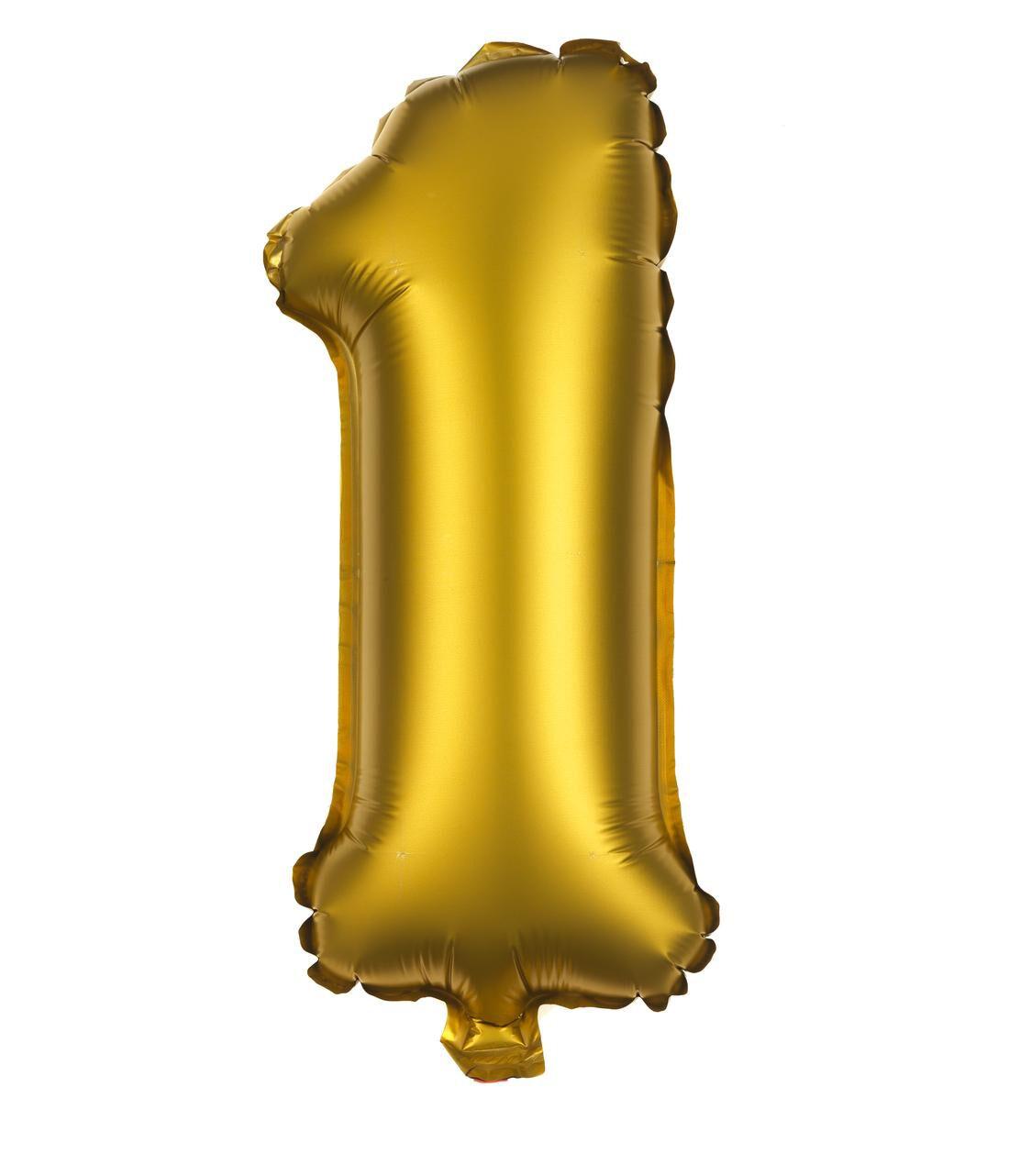 HEMA Folie Ballon 1 (goud)
