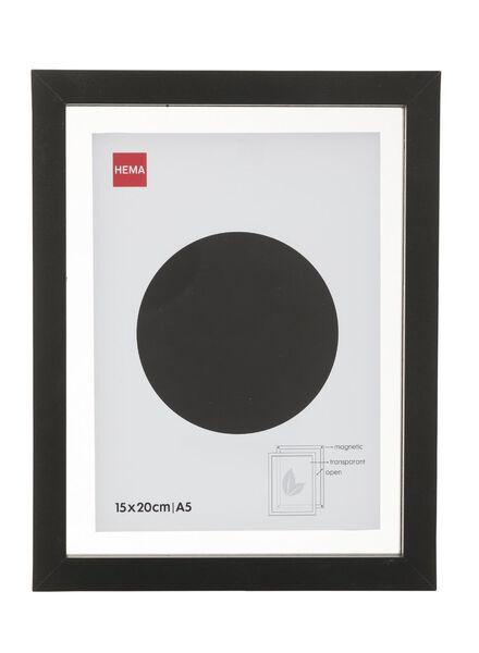 fotolijst magnetisch 15 x 20 cm 15 x 20 zwart - 13680043 - HEMA