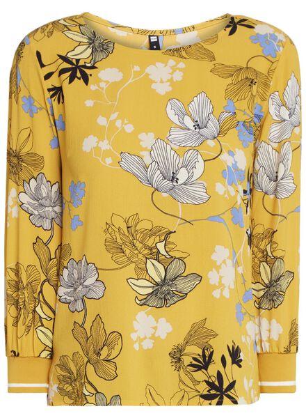 damesblouse geel - 1000011570 - HEMA