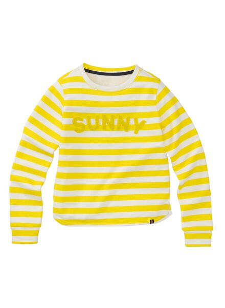 kindersweater geel geel - 1000005868 - HEMA